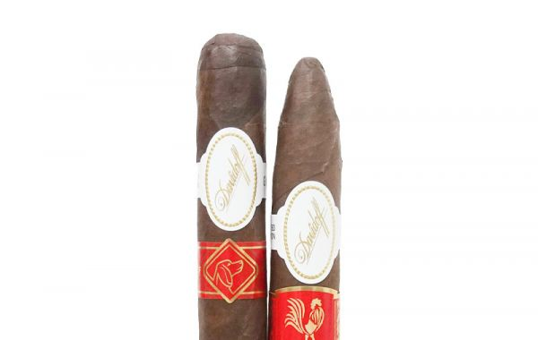 5 Sticks Davidoff Limited Edition Year of the Rooster 2017 & 5 Sticks Davidoff Limited Edition Year of the Dog 2018