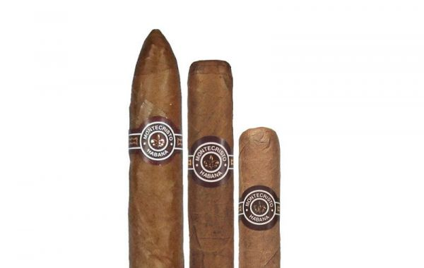 10 sticks each of Montecristo No.2, No. 3 & No. 4