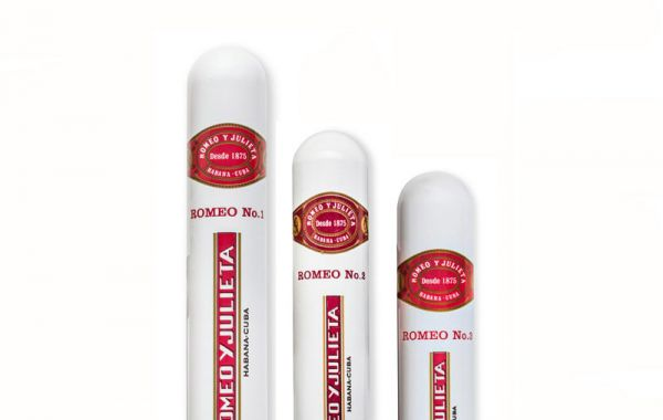 10 sticks each of Romeo y Julieta No. 1 Tubos, No. 2 Tubos & No. 3 Tubos