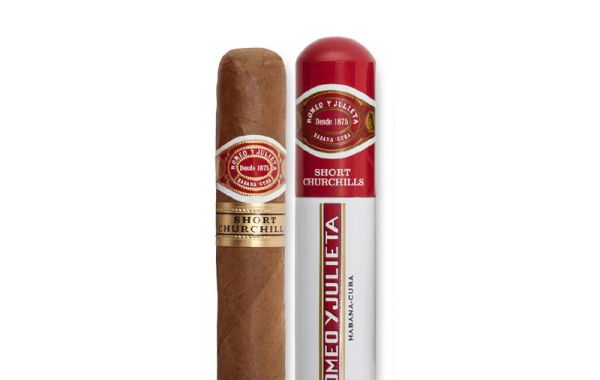 Romeo y Julieta Short Churchills Tubos